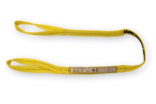 "EE1-901 1"" Eye & Eye Sling One Ply EE1-901 1PLY Single One Eye&Eye Synthetic Nylon Overhead Lifting Towing Rigging"
