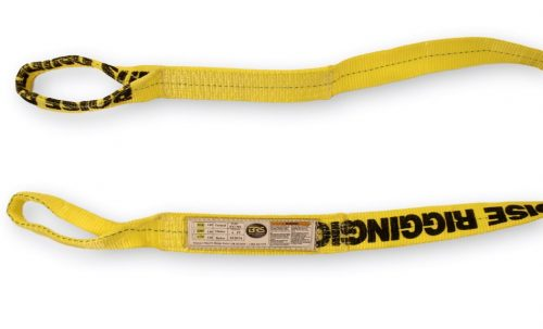 "EE1-902 2"" Eye & Eye Polester Sling 1PLY singly ply nylon synthetic overhead lifting towing rigging"