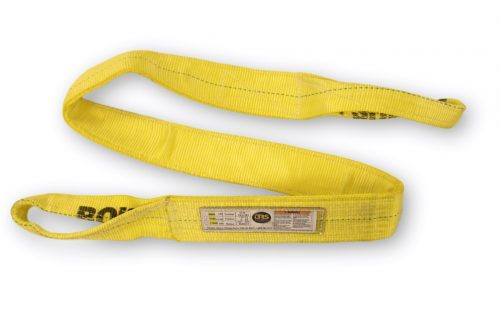 "3"" Eye & Eye Sling Two Ply EE2-903 Double Nylon Synthetic Overhead Lifting Towing Rigging"