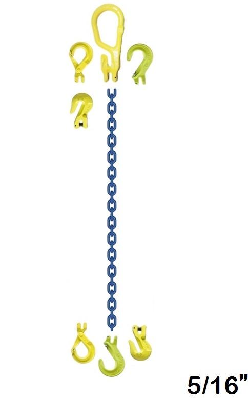 """Chain Sling Gunnebo 5/16"""" Grade 10"""