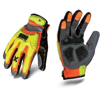 ironclad high viz impact exo glove boise rigging supply