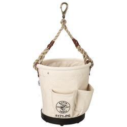 Klein Heavy Duty Tapered Wall Bucket 4 Pockets