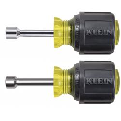 Klein Stubby Nut Driver Set 1-1/2'' Shafts 2 Pc