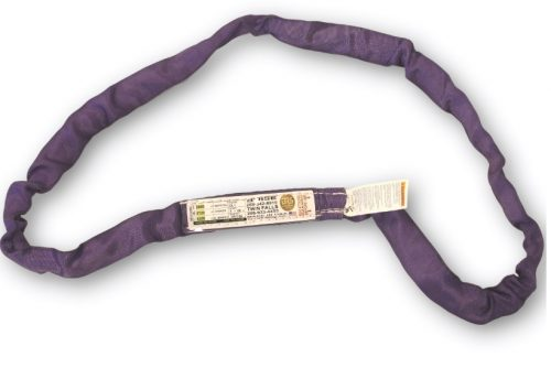 Poly Round Sling Ol1 Purple Polyester RoundSling Ol-1 Overhead Lifting Rigging Towing