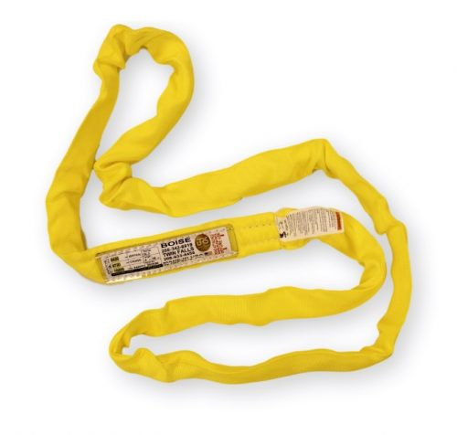 Poly Round Sling OL3 Yellow Synthetic Polyester RoundSling Rigging Towing Overhead Lifting