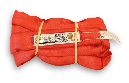 Poly Round Sling OL5 Red USA made Polyester RoundSling Overhead Lifting Towing Rigging