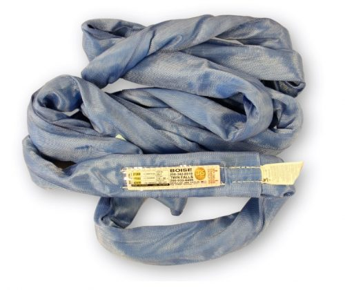 Poly Round Sling OL7 Blue USA made Polyester RoundSling Overhead Lifting Towing Rigging